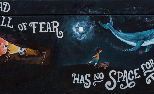 Mural by Jen Hughes