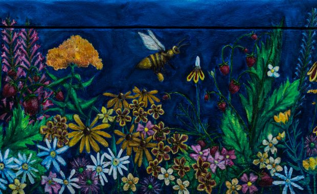 """Mural: Nurture by Melissa """"Mo"""" Lashbrook"""