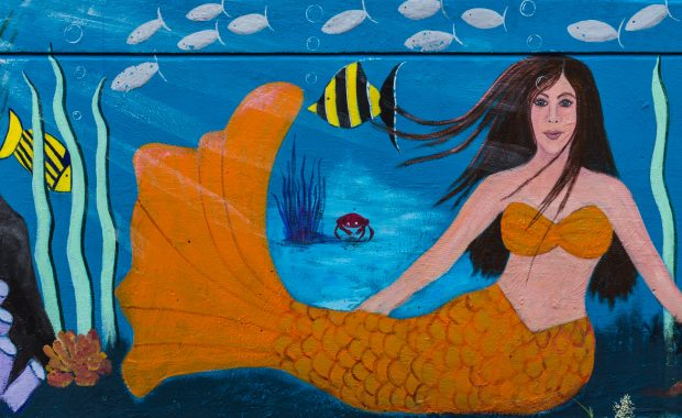 Mural: Mermaid and Friends by Dana Reneé Hagan Barger