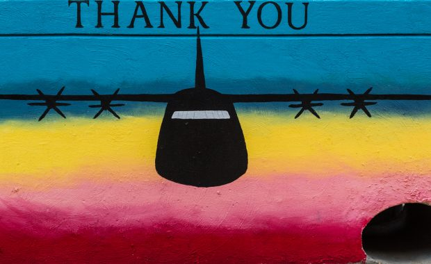 Mural: Thank You by Amber Stephens