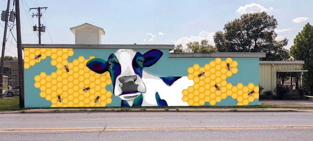 Cabot Meat Market Mural
